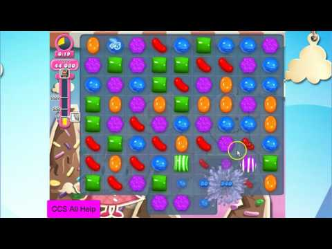 Candy Crush Saga Level 43 NO BOOSTERS Cookie