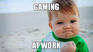 """Gaming At Work"" by Pokde.Net, MSI, Intel and Nvidia"