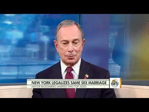 Gay marriage legal Sunday in N.Y.