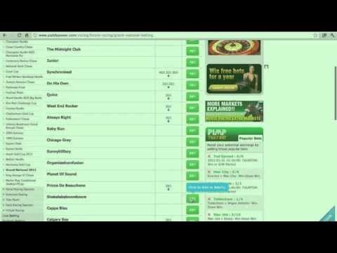 Bet Each Way With paddy Power Bookmakers
