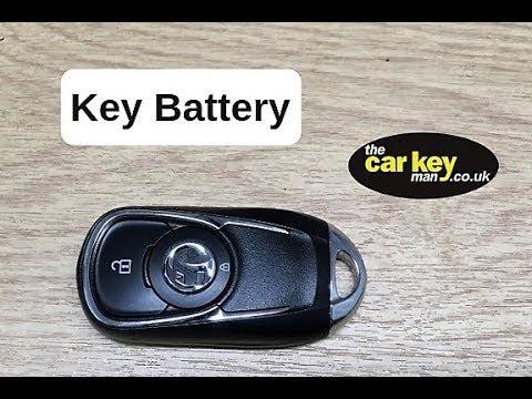 2018 Vauxhall Insignia smart key battery change