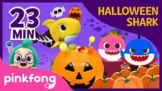 Baby Shark Halloween Special   +Compilation   Halloween Songs   Pinkfong Songs for Children