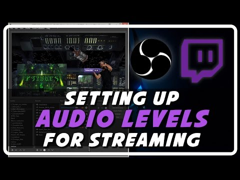 Live Stream Audio Levels: Setup Sound Levels on OBS (Tutorial by Psynaps)