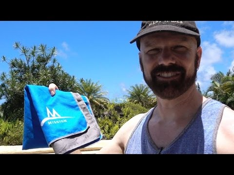 Mission EnduraCool Cooling Towel Review: Do Cooling Towels Work?