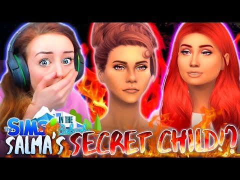 SALMA HAS A SECRET DAUGHTER!?!? 💔😱 (The Sims 4 IN THE SUBURBS #19! 🏘)