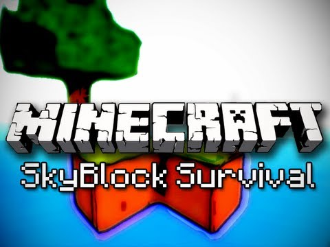 Minecraft: SkyBlock Survival Ep. 4 - Mob Trap