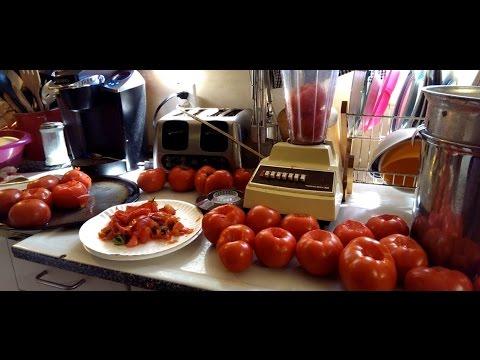 How to make Fresh Tomato Sauce!