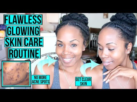 How to Get FLAWLESS GLOWING Skin FAST & NATURALLY | My Simple Skin Care Routine