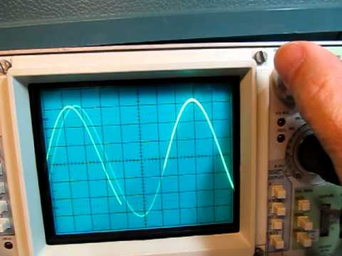 #44: Frequency measurement using Delaying Timebase on Analog Oscilloscope