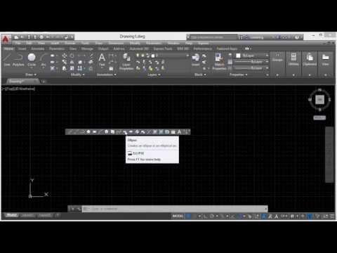 Autodesk AutoCAD 2015 Tutorial | Toolbars And The Menubar