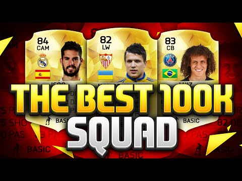 THE BEST 100K TEAM ON FIFA 16!!! Fifa 16 Dual Hybrid Squad Builder