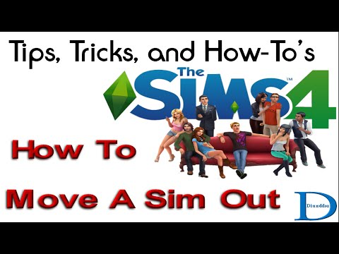 How To Move A Sim Out - The Sims 4 Tip's