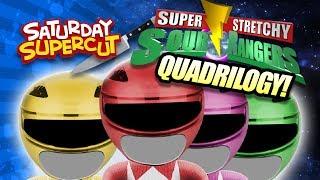 SOUR RANGERS 1 - 4 SUPERCUT! (Quadrilogy) | Annoying Orange