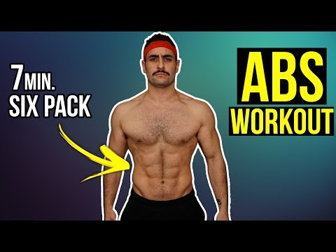 7 Minute Home Ab Workout | Get Six Pack Abs At Home (Follow Along!!)