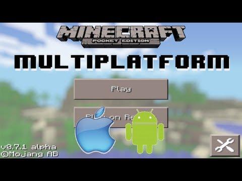 Minecraft Pocket Edition 0.7.1 Realms News