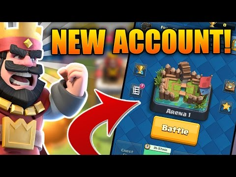 NEW CLASH ROYALE ACCOUNT! BRAND NEW SERIES!