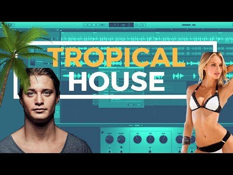 GarageBand Tutorial - How To Make A Tropical House Beat