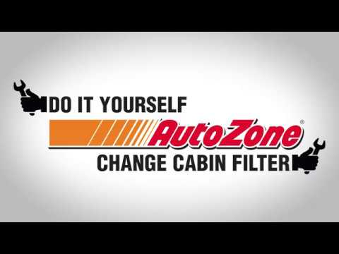 How to Change the Cabin Air Filter for Your Car - AutoZone How to Videos