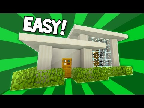 Minecraft (Xbox One & PS4) : Easy TU43 Modern House Tutorial