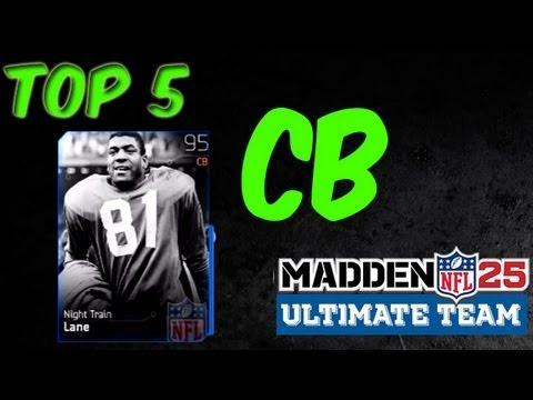 MUT 25 - Top 5 CB - Madden 25 Ultimate Team