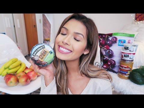 VEGAN GROCERY HAUL (HEALTHY + JUNK FOOD) | ItsMandarin