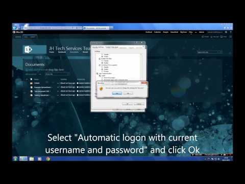 How To Map a Document Library To Windows Explorer | Office 365/SharePoint Online 2013
