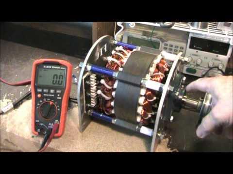 Low RPM Powerful Compact Wind Turbine Generator