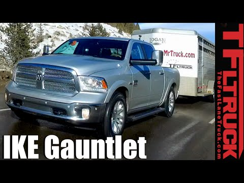 2016 Ram 1500 HEMI takes on the Extreme Ike Gauntlet Towing Review