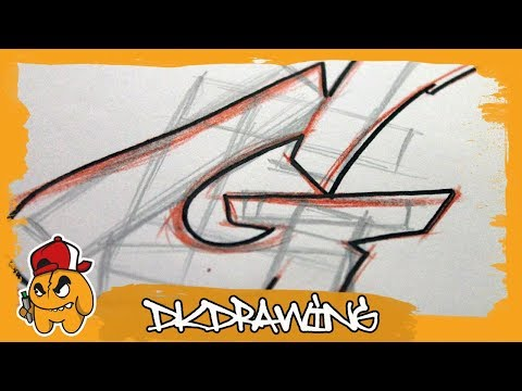 Graffiti Tutorial for beginners - How to draw & flow your graffiti letters - Letter G