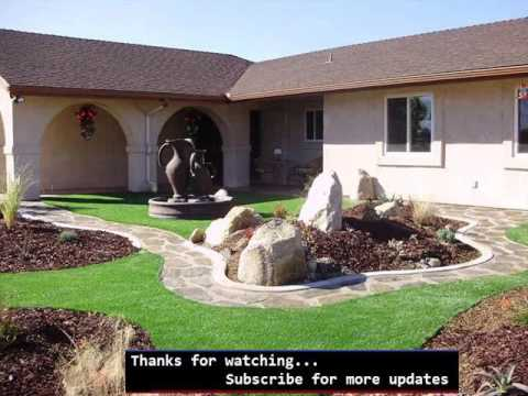 Artificial Grass Front Lawn | Fake Grass Picture Collection
