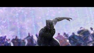 Marvel Studios Black Panther Pray