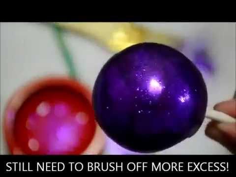 Glitter Power: Como usar em Cakepops
