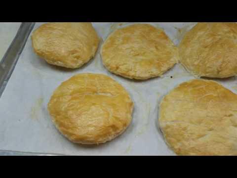 Chicken pot pie puff pastry 2