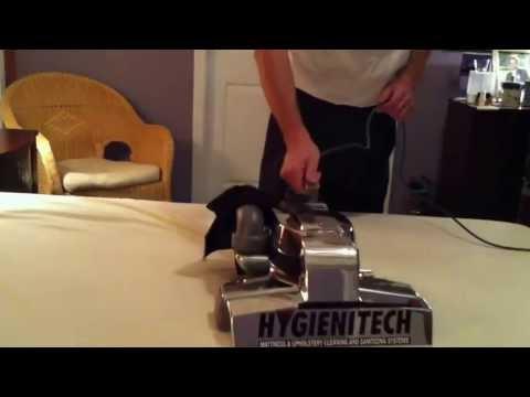 Mattress sanitizing for dust mites