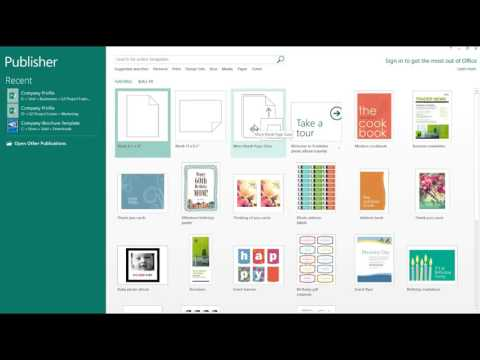 How to Create a Poster Using Microsoft Publisher