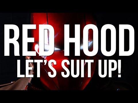 Red Hood Cosplay Suit