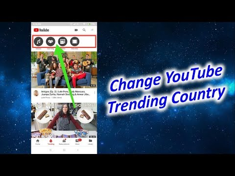 How to Change YouTube Trending Country