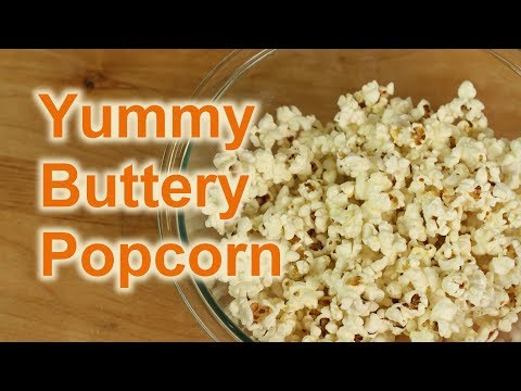 How To Make Popcorn Easy & On The Stove | Rockin Robin Cooks