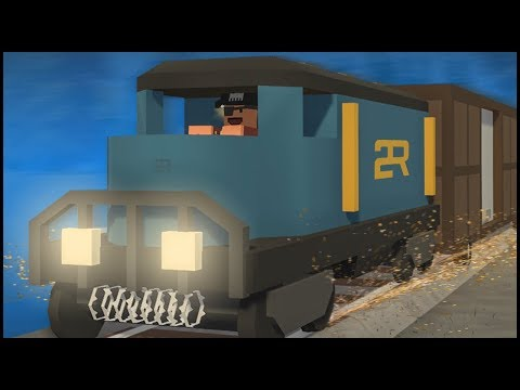 DRIVEABLE TRAIN BASE! (Unturned)