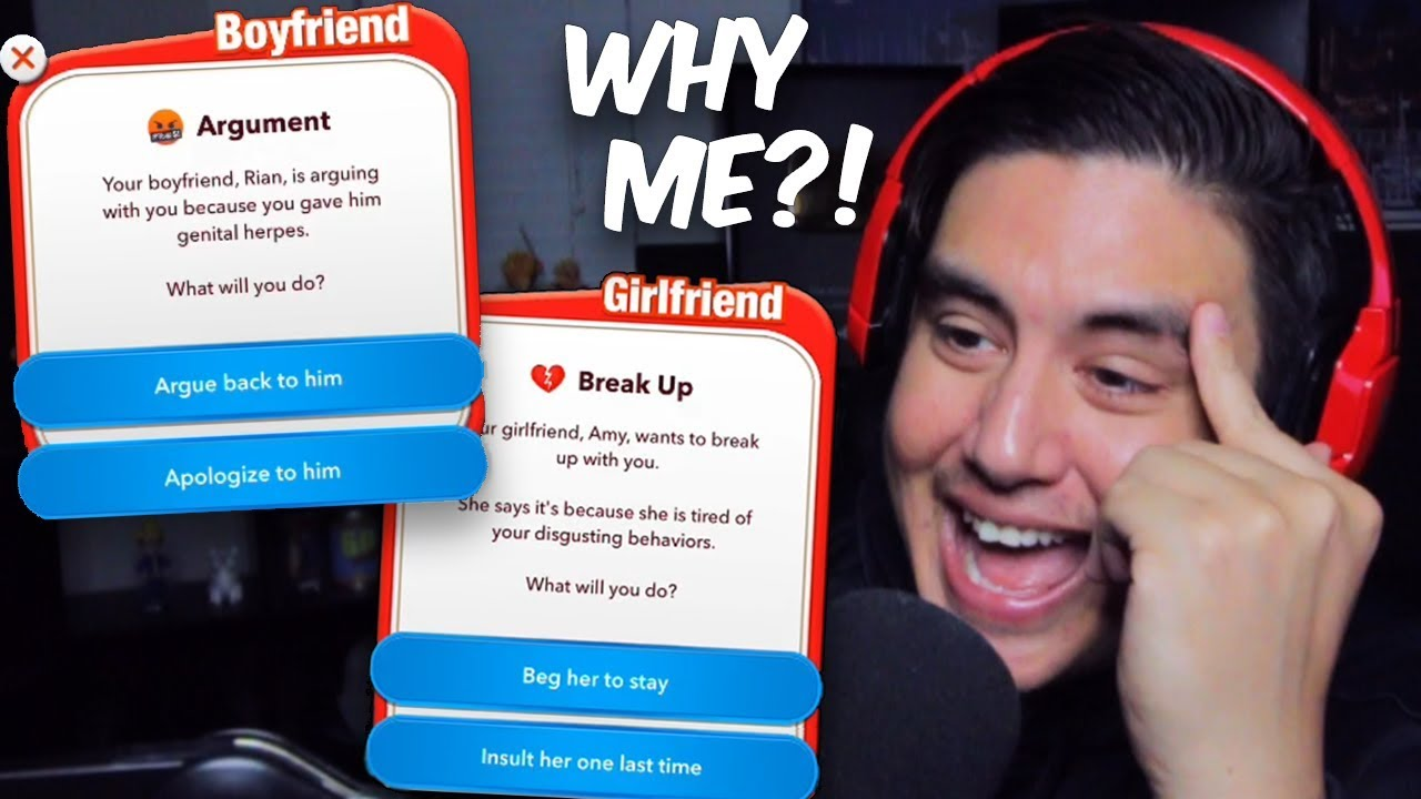 MY LOVERS CAUGHT ME SLIPPIN..I REGRET NOTHING | BitLife (Hilarious Life Simulator Game)