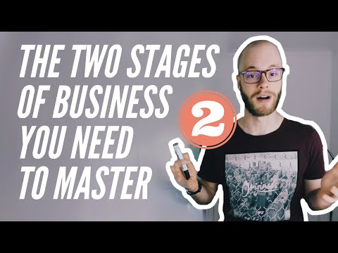 The Two Stages Of Every Business: Acquiring Customers And Maximizing Profit