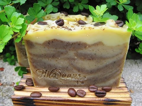 Combine Two Different Batches to Make one Coffee Soap