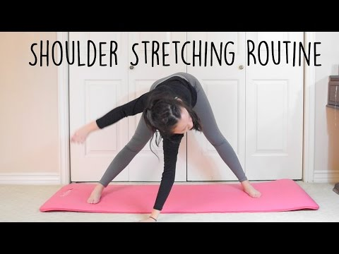 Shoulder stretches for flexibility
