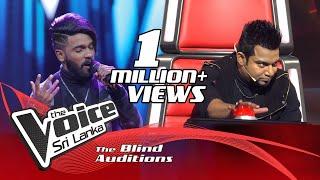 Prakash K. - Unnai Kaanadhu Naan | Blind Auditions  | The Voice Sri Lanka