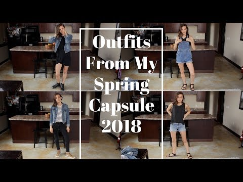 My Go To Outfits from Spring Capsule