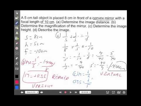 Optics Calculations