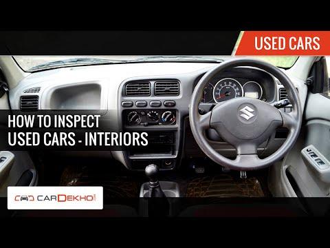 How to Inspect a Used Car?   Interiors   CarDekho.com