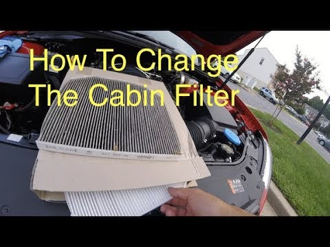 How To Change The Cabin Filter In A Chevrolet SS
