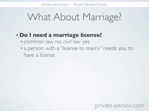 Questions-Marriage License