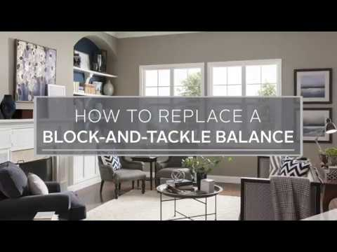 How to Replace a Block-and-Tackle Balance